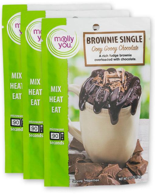 Brownie Single: Ooey Gooey Chocolate